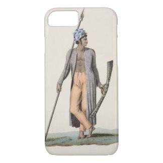 「旅行のautからのGuebeの島からの戦士、 iPhone 8/7ケース