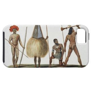 「旅行のautour du月曜日からのニューアイルランド島の先住民、 iPhone SE/5/5s ケース