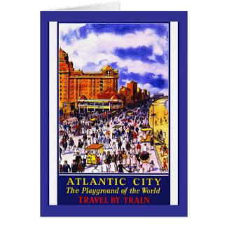 旅行アメリカのプリントのレトロのヴィンテージ旅行 カード
