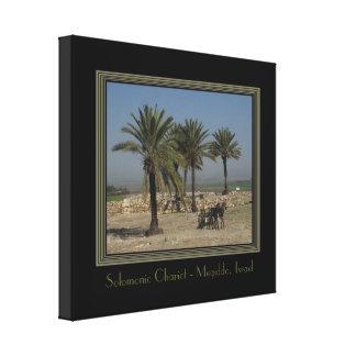旅行イスラエル共和国のキャンバスプリントのプリント キャンバスプリント