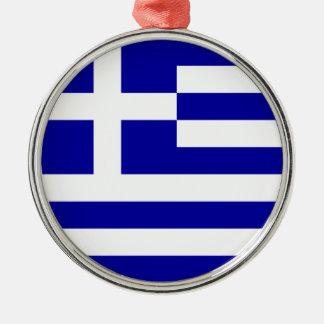旅行オーナメント-ギリシャ メタルオーナメント