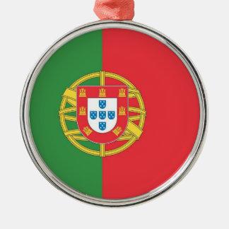 旅行オーナメント-ポルトガル メタルオーナメント