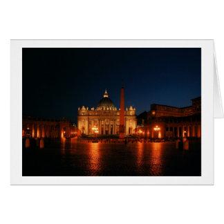 旅行シリーズ: セントピーターのバシリカ会堂 カード
