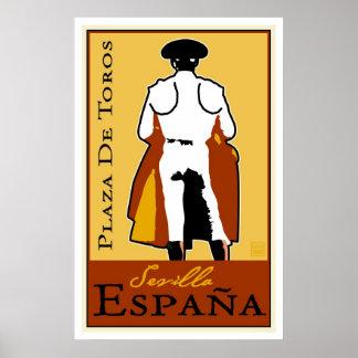 旅行スペイン ポスター