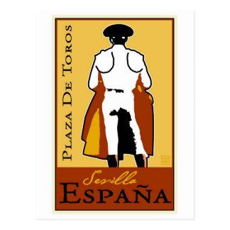 旅行スペイン ポストカード