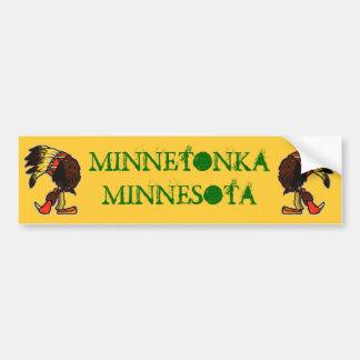 旅行ミネソタミシガン州のバンパーステッカーを促進して下さい バンパーステッカー