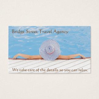 旅行会社デザイナー名刺 名刺