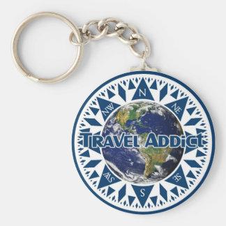 旅行常習者Keychain キーホルダー