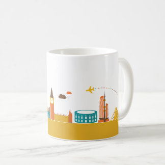 旅行景色1 コーヒーマグカップ