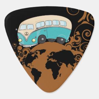 旅行精神 ギターピック