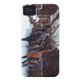 """""""旅行終わり""""のやっとそこにiphone 4ケース Case-Mate iPhone 4 ケース"""