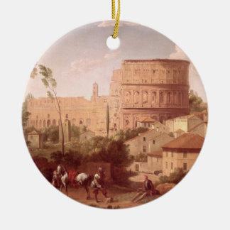 旅行者とのColosseum、1731年の眺め(oi セラミックオーナメント