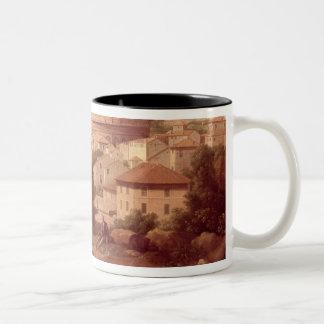 旅行者とのColosseum、1731年の眺め(oi ツートーンマグカップ