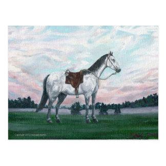 旅行者の馬 ポストカード