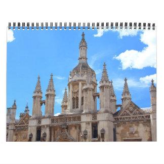 旅行、建築の写真のカレンダー カレンダー