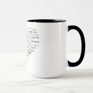 旅行-都市 マグカップ