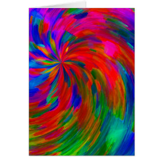 旋回のカラーホイール カード