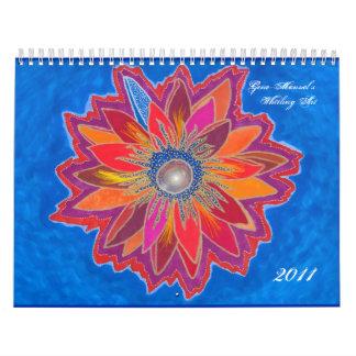 旋回の芸術2011のカレンダー カレンダー