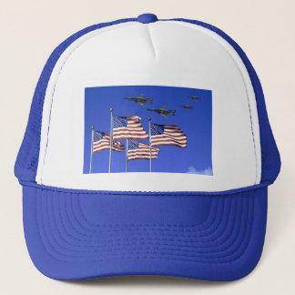 旗および上空飛行 キャップ