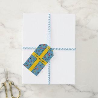 旗が付いているスウェーデン文化項目 ギフトタグパック