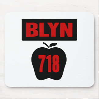 旗が付いている大きいAppleのBLYN 718の内部、2色 マウスパッド