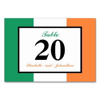 旗のアイルランドのアイルランドの結婚式 カード