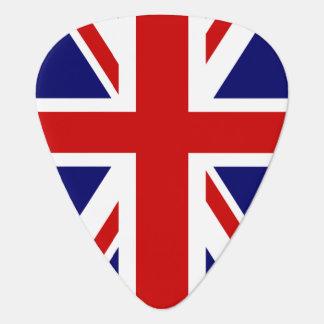 旗のギターの一突き|の英国国旗のイギリスのデザイン ギターピック