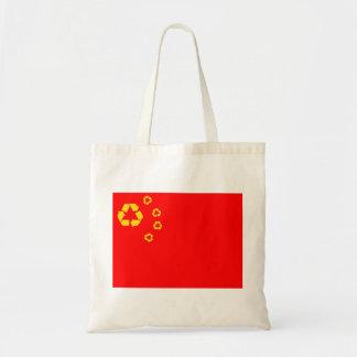 旗のバッグをリサイクルする中国 トートバッグ