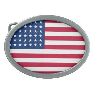 旗のベルトの留め金 卵形バックル