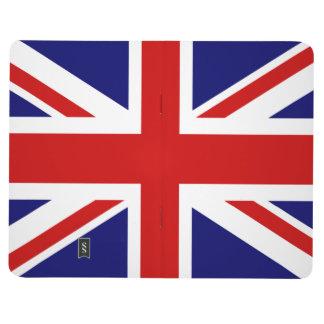 旗のポケットジャーナル|英国国旗のイギリスのデザイン ポケットジャーナル