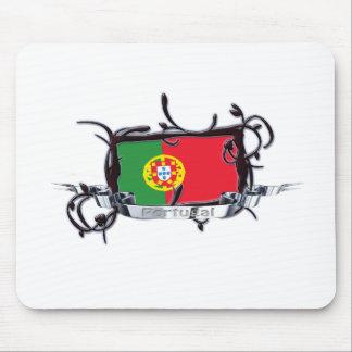 旗のポルトガルの種族のマウスパッド マウスパッド