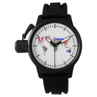 旗の世界 腕時計