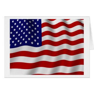 旗の初生栄光 グリーティングカード