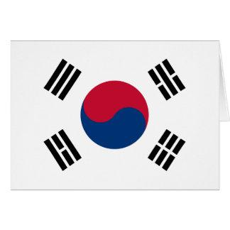旗の南朝鮮の대한민국 カード