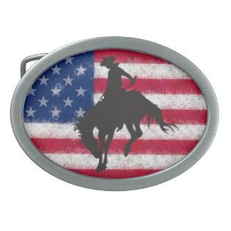 旗の強く反対する馬のベルトの留め金 卵形バックル