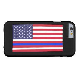 """""""旗の薄いブルーライン"""" BARELY THERE iPhone 6 ケース"""