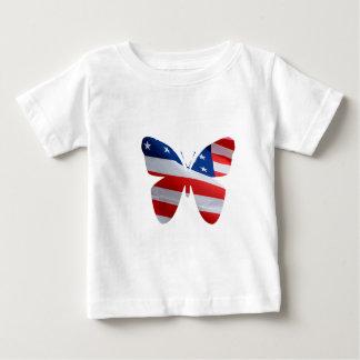 旗の蝶 ベビーTシャツ