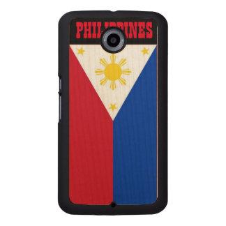 旗のGoogleフィリピンのNexxusカバー ウッドケース