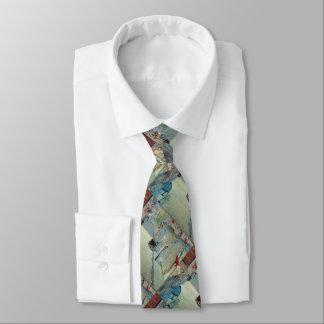 旗のManetの絵画のネクタイが付いている通りMosnier オリジナルタイ