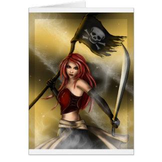 旗を持つ海賊女王 カード