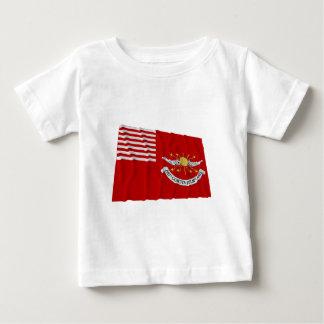 旗を振っているTallmadgeの竜騎兵 ベビーTシャツ