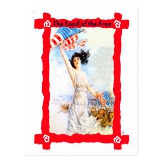旗を振ること ポストカード