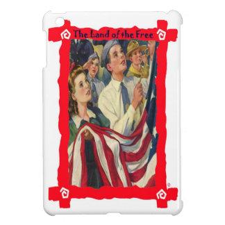 旗を高く上げること iPad MINIケース