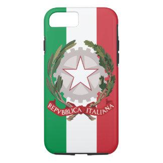 旗イタリアンな紋章付き外衣 iPhone 8/7ケース