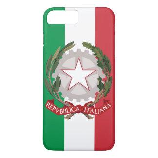 旗イタリアンな紋章付き外衣 iPhone 8 PLUS/7 PLUSケース