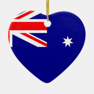 旗オーストラリア。 オーストラリアの記号 セラミックオーナメント
