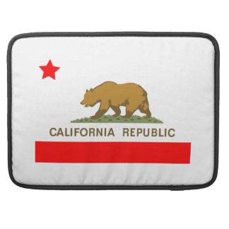 旗カリフォルニア州 MacBook PROスリーブ