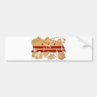 旗コロンビア特別区 バンパーステッカー