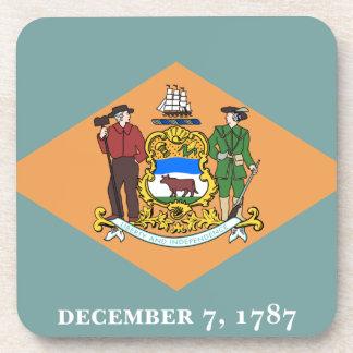 旗デラウェア州 コースター
