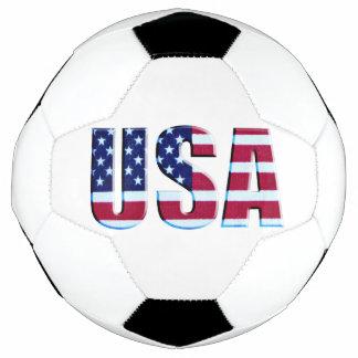旗米国の手紙 サッカーボール
